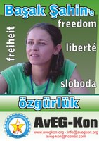 Sofortige Freilassung von Frau Basak Sahin Duman!