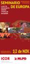 Flyer: Seminario de Europa - LA EU Y EL MOVIMIENTO OBRERO Y POPULAR EN EUROPA (con Participación International)