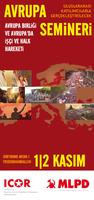 Avrupa Semineri: Avrupa Birliği ve Avrupa'da işçi ve halk hareketi (Flyers)