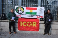 """En Portugal - día mundial de acción """"Efrîn vivirá"""""""