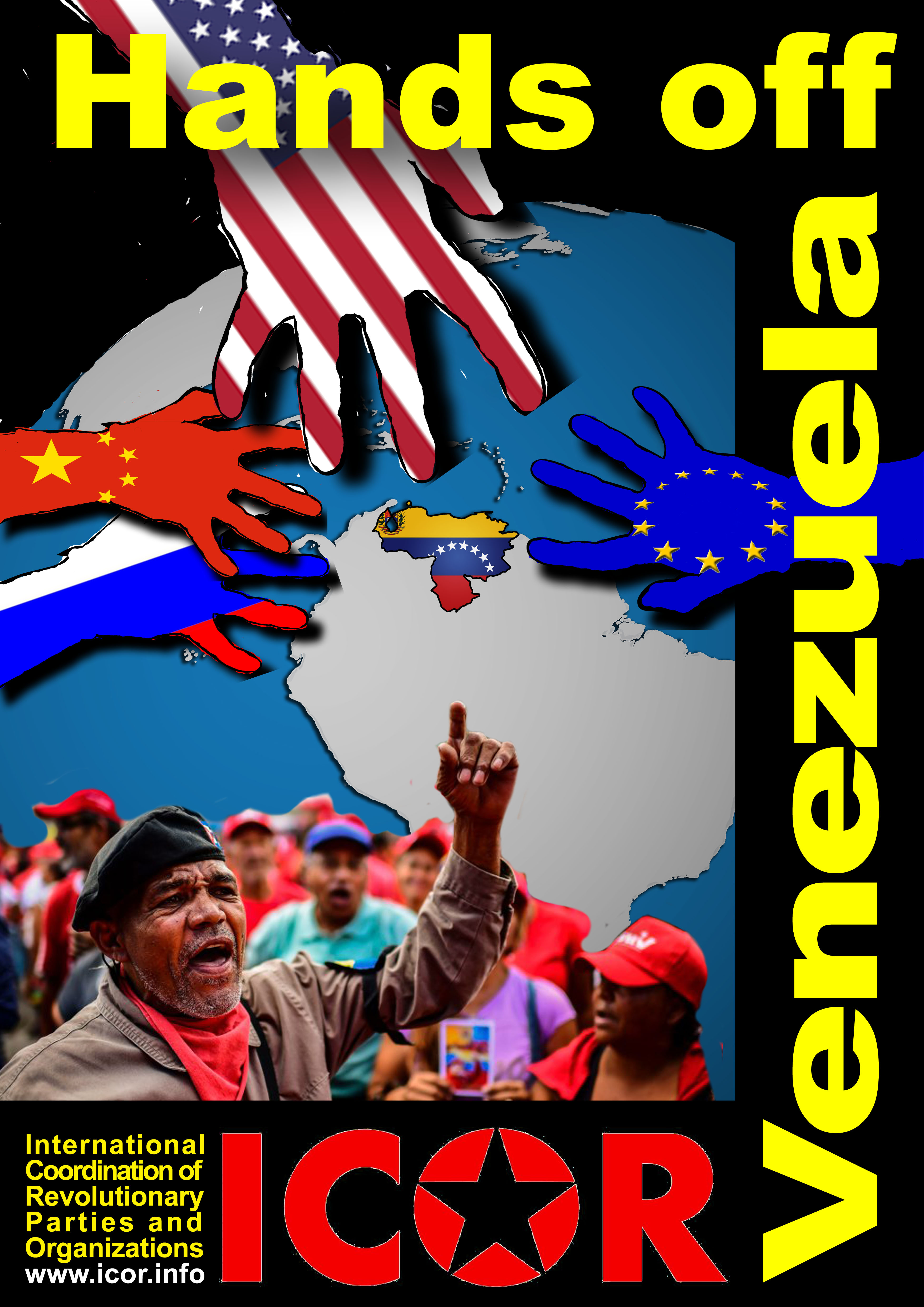 Hands off Venezuela!  Participate on 16 May 2019 – the worldwide day of solidarity of ICOR with the Venezuelan people!